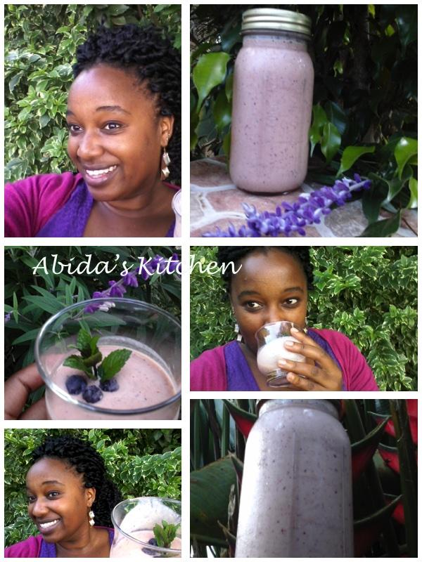 Tutti's very fruity minty smoothie | abidabuoroskitchen.wordpress.com