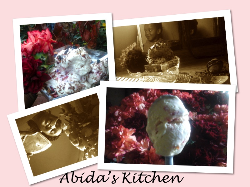 STRAWBERRY AND RASPBERRY RIPPLE, NO-CHURN ICE CREAM |abidabuoroskitchen@wordpress.com