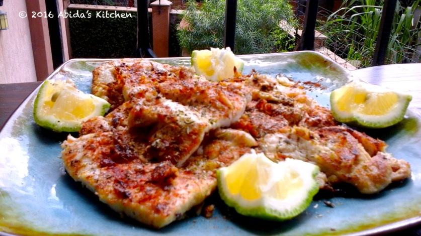 Lemon garlic red snapper| Abida's Kitchen