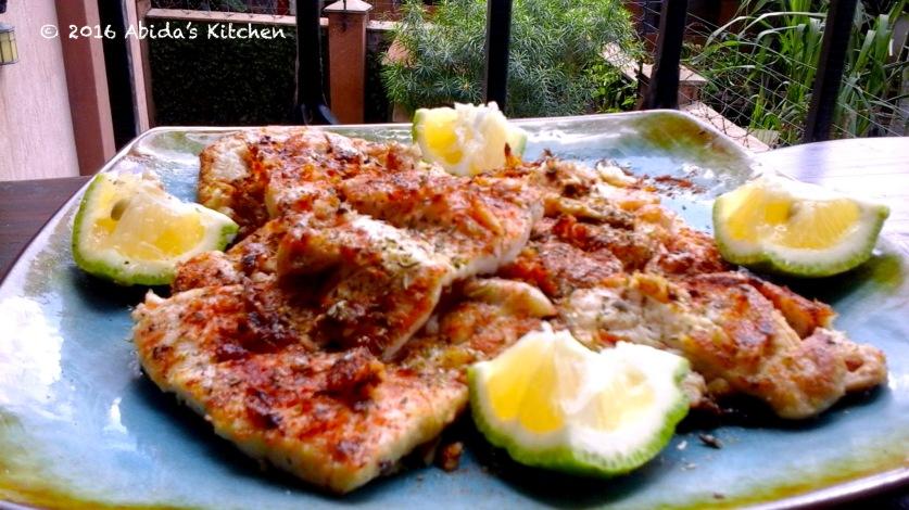 Lemon garlic red snapper  Abida's Kitchen
