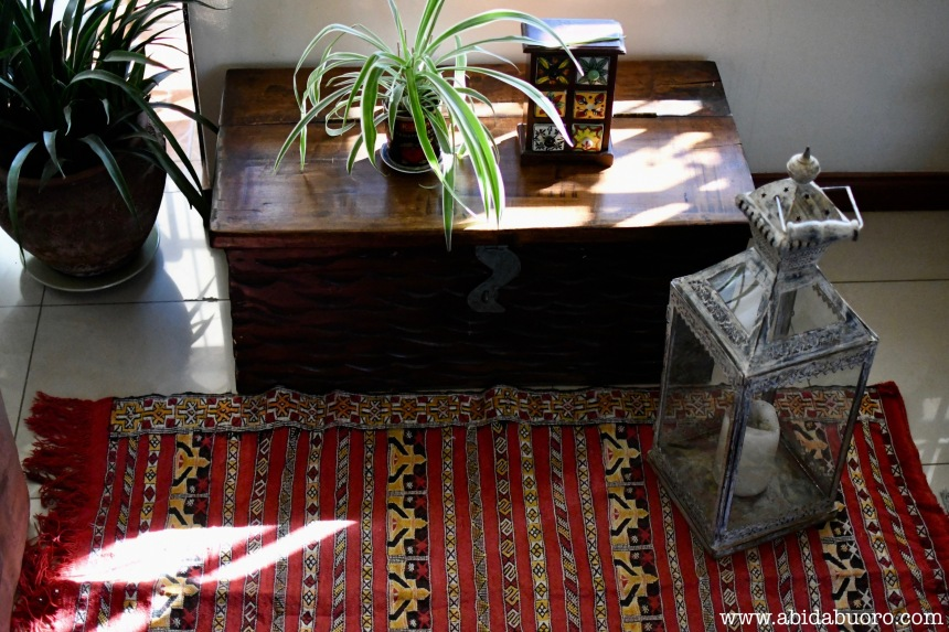 DH-003a Hand woven tribal area rug